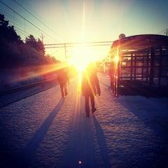 Photo taken at Helenelund (J) by Lisen K. on 12/3/2012