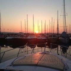 Photo taken at Marina Di Cala Galera by alessandro o. on 8/19/2013