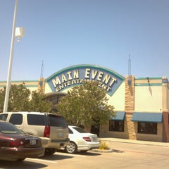Photo taken at Main Event Entertainment by becky cantu on 6/27/2013