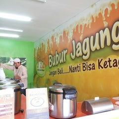Photo taken at Bubur Jagung by Mulia S. on 6/2/2013