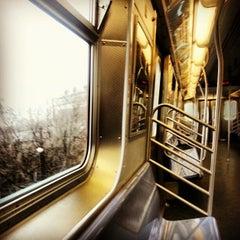 Photo taken at MTA Subway - J Train by 매운 여자 Coty R. on 1/12/2013