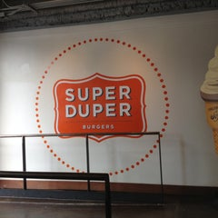 Photo taken at Super Duper Burger by Taha B. on 4/21/2013