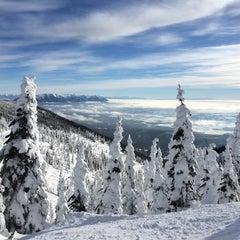 Photo taken at Whitefish Mountain Resort by Stephanie K. on 1/2/2015