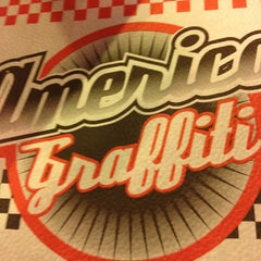 Photo taken at America Graffiti by Claudio C. on 12/22/2012