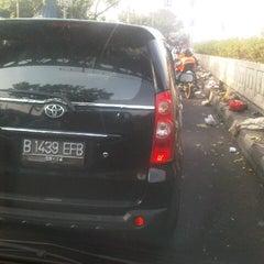 Photo taken at Underpass Pasar Minggu by Tarta S. on 11/30/2012