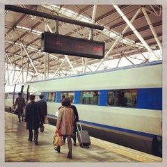 Photo taken at 서울역 (Seoul Station - KTX/Korail) by Rauan M. on 3/19/2013