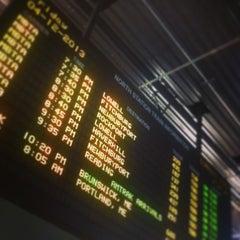 Photo taken at MBTA North Station by Jeffrey P. on 4/12/2013
