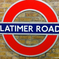 Photo taken at Latimer Road London Underground Station by Ric C. on 12/5/2014