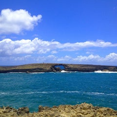 Photo taken at Laie Point by Edward L. on 7/3/2013