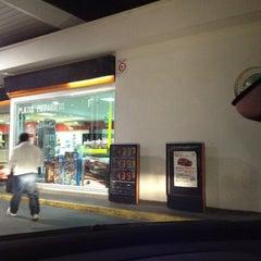 Photo taken at Gasolinera Repsol by Antonio L. on 10/20/2012