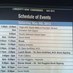 Photo taken at The Longevity Now Conference by Kristen W. on 5/4/2013