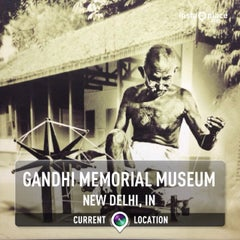 Photo taken at Gandhi Memorial Museum | गांधी स्मारक संग्रहालय by Andreas W. on 11/10/2013