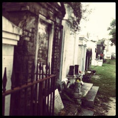Photo taken at Lafayette Cemetery No. 1 by Wendy Simmons on 10/18/2012