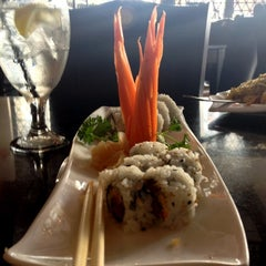 Photo taken at Twist Asian Fusion Hibachi & Bar by Ana A. on 11/3/2012