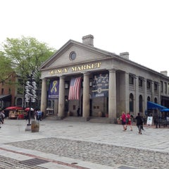 Photo taken at Quincy Market by NerDie P. on 5/21/2013