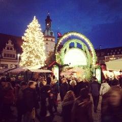 Photo taken at Leipziger Weihnachtsmarkt by Egor on 12/15/2012