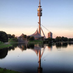 Photo taken at Olympiapark by Egor on 7/16/2013