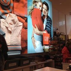 Photo taken at Gap by Moonjoo P. on 11/24/2012