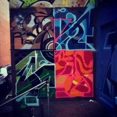 Photo taken at Asylum Sports Bar Grill & Nightclub by Acts of Random Art on 11/9/2013