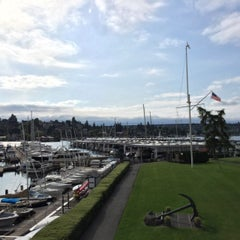 Photo taken at Seattle Yacht Club by Susanna R. on 5/25/2015