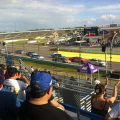 Photo taken at Homestead-Miami Speedway by Enrique M. on 11/18/2012