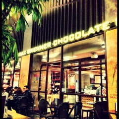 Photo taken at Max Brenner Chocolate Bar by Djoni T. on 10/12/2012