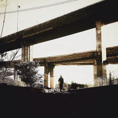 Photo taken at Échangeur Turcot by jaclyn t. on 10/14/2012