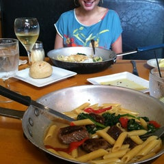 Photo taken at Michaels Pasta In The Pan by hayleygrassetti on 5/30/2013