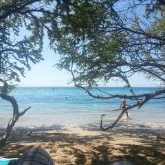 Photo taken at Waialea Beach (Beach 69) by Jordan W. on 7/26/2013