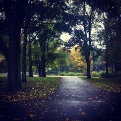Photo taken at Kronvalda parks by Māris Antons on 10/15/2012