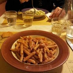 Photo taken at Osteria All'Inferno Dal 1905 by Lilian C. on 4/24/2014