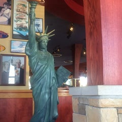 Photo taken at Red Robin Gourmet Burgers by christopher H. on 10/25/2013