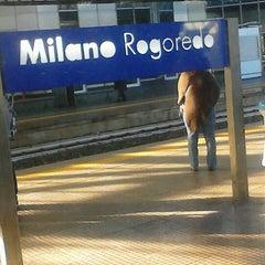 Photo taken at Stazione Milano Rogoredo by Giulia F. on 11/6/2012
