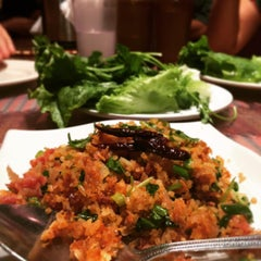 Photo taken at Champa Garden by east bay dish on 8/25/2015