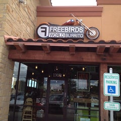 Photo taken at Freebirds World Burrito by Gray W. on 9/19/2013