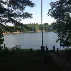 Photo taken at Long Lake by Rachel B. on 7/5/2013