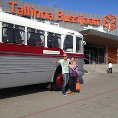 Photo taken at Tallinna Bussijaam by Anna Z. on 6/30/2013