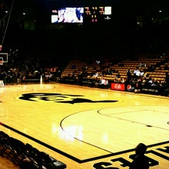 Photo taken at Coors Events Center by Andy M. on 12/22/2012