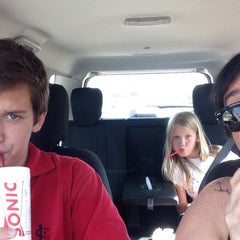 Photo taken at SONIC Drive In by Hannah J. on 4/25/2014