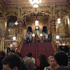 Photo taken at United Palace Theatre by Adam W. on 10/20/2012