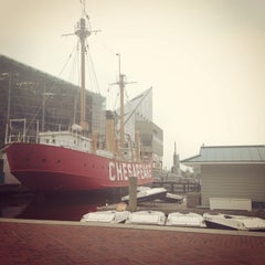 Photo taken at Historic Ships in Baltimore by Kristen S. on 6/10/2014