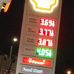 Photo taken at Shell by onezerohero on 12/4/2012