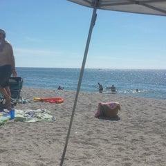 Photo taken at Turner Beach by John B. on 10/19/2014