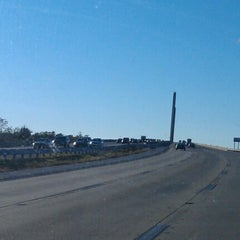 Photo taken at St. Georges Bridge by Tiffany C. on 10/16/2012