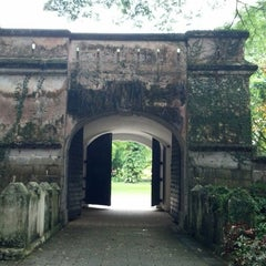 Photo taken at Fort Canning Park by Darrell B. on 5/16/2013