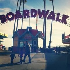 Photo taken at Santa Cruz Beach Boardwalk by Maribel R. on 12/9/2012