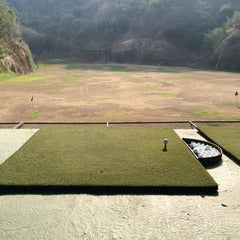 Photo taken at La Cinta Golf driving range by Juan G. on 5/1/2014