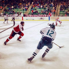 Photo taken at Thompson Arena at Dartmouth by Jose O. on 11/10/2012