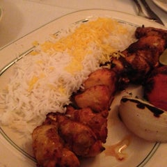 Photo taken at Ravagh Persian Grill by Pat H. on 9/30/2012