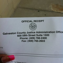Photo taken at Galveston County Jail by Yalanda S. on 4/4/2013